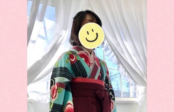 卒業袴越川様2019