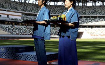 オリンピックメダル授与ユニフォーム